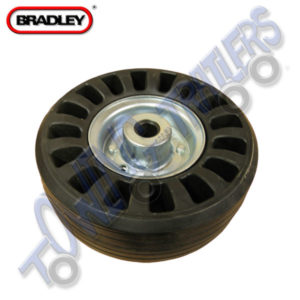 Bradley 225x80mm Replacement Cushioned Wheel Kit 3629