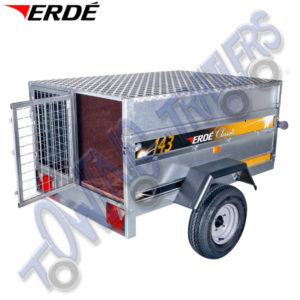 Erde Animal Transporting / Hunting Kit  for Erde 143, 153 & Daxara 148, 158 Trailers PC150