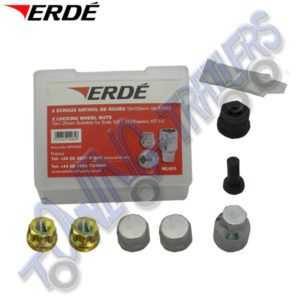 Erde Locking Wheel Nuts for Erde 102, 122, 142 & 143 Trailers WL001