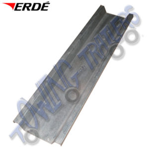 Erde 1m Galvanised Steel Loading Ramp for Erde Motorcycle Trailers RC001