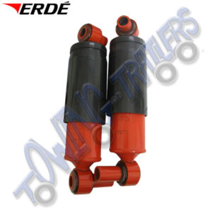 Erde Shock Absorbers for 193 & 234x4 Braked Trailers (pair) KAF233