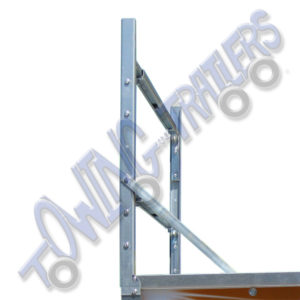 Genuine Erde ladder rack for Erde 142 trailers and above