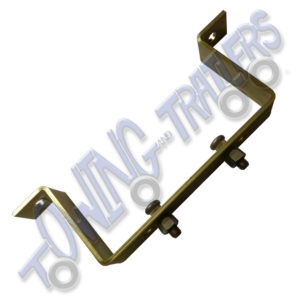 Top Hat Spare Wheel Carrier suiting 5.5 + 100mm PCD
