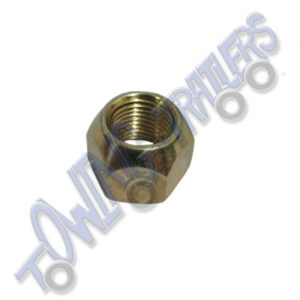 "Wheel Nut 1/2"" UNF 19mm Head, 60* Conical Indespension 100mm PCD"