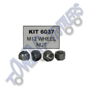 Bradley KIT 6037 M12 Conical Wheel Nuts for Type 2000 Drum pack of 4