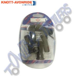 Pack of 5 Knott Avonride 574013 - M16 x 47mm Wheel Studs