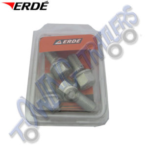 Erde Replacement Wheel Bolts for Erde 153-234 (4 Pack )  09191032