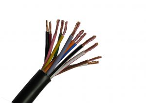 21 amp 12 core electrical cable for trailers and caravans