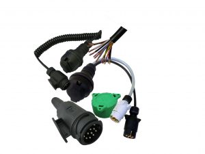 13 Pin plugs, socket and extension cables for caravans and trailers