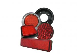 2 function LED stop / tail trailer lights