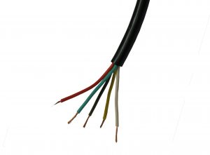 5 amp 5 Core Electrical Cable