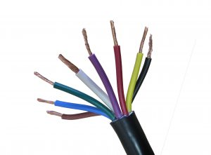 8 amp 8 core electrical trailer cable