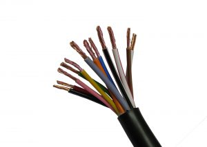 Electrical cable for trailers
