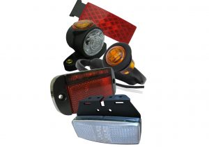 LED front, side, rear and outline marker lights for trailers and commercial vehicles. IP67 rated for boat trailers