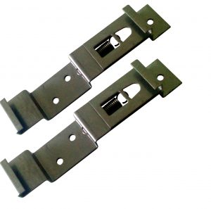 Spring Loaded Number Plate Clips