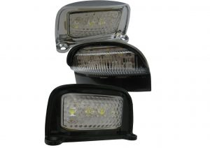 12 volt and 24 volt LED numberplate lights for trailers and commercial vehicles
