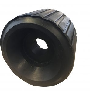 Ribbed Rollers for Boat Trailers