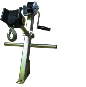Winch Posts and Hand Winches for Boat Trailers with Buffer Block