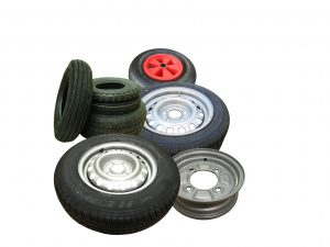 Trailer Wheels and Tyres for on road and off road use
