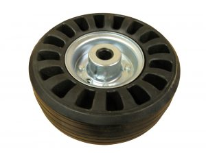 replacement wheel for jockey wheel