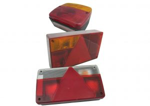 4 function, 5 function and 6 function AJBA multifunction rear plug in trailer lights