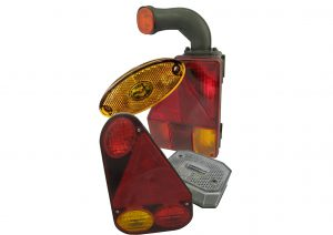 Aspock multifunction rear trailer lights and front, side and rear marker lights
