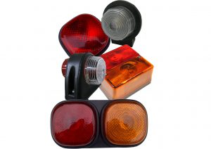 Britax rear trailer lights and front, side, rear and outline marker bulb trailer marker lights. Supplies your trailer with stop, tail, indicator, fog and marker lights
