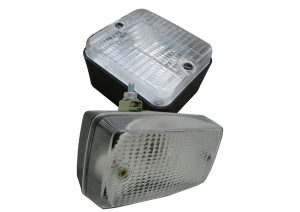 AJBA and G Mak bulb reversing lights for trailers and caravans