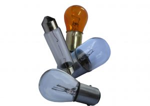 Festoon style, wedge, miniature and amber indicator bulbs for trailer lights