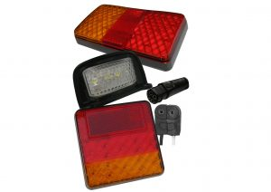 LED Autolamps G2 plug in rear trailer lights and number plate lights