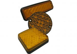 LED Autolamps amber indicator lights for trailers and commercial vehicles