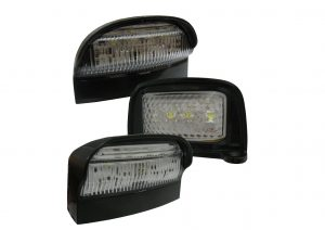 12 volt and 25 volt LED Numberplate lights for trailers and commercial vehicles