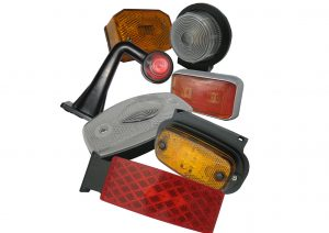 LED and bulb front, side, rear and outline trailer marker lights