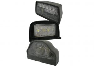 LED and bulb numberplate lights for trailers and commercial vehicles. 12 volt and 24 volt versions available