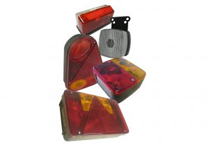 Radex multifunction rear bulb trailer lights and front and outline marker lights