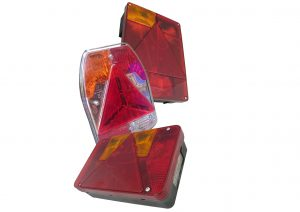 5 function and 6 function Radex rear plug in lights for trailers to suit Radex plug in system