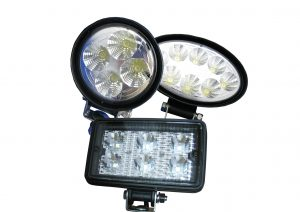 LED work lamps from manufacturers including; LED Autolamps and Flood-It