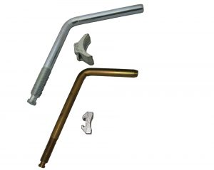 jockey wheel handle and pad