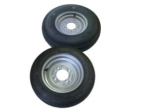 10 Inch Trailer Wheels and Tyres for Caravans and Trailers