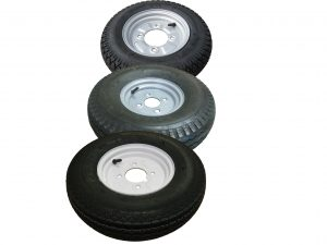 8 Inch trailer wheels and tyres including 400x8 350x8 and more 4 stud wheel rims
