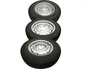 13 inch and 14 inch trailer wheels and tyres for the Erde Expert range of trailers including; LC200, PLM170F and XT250