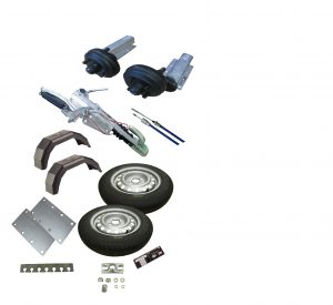 Braked Running Gear Kits