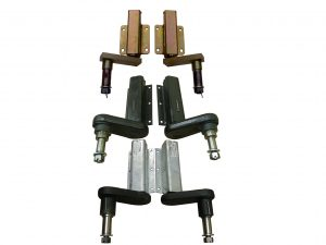 Unbraked Trailer Suspension Units with standard and extended 1 inch shaft and 7/8