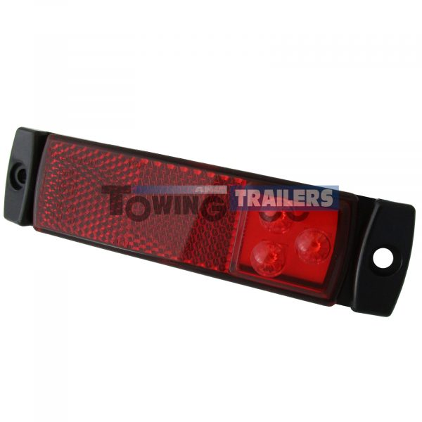 LED Autolamps 129 Series Red Trailer Marker Light
