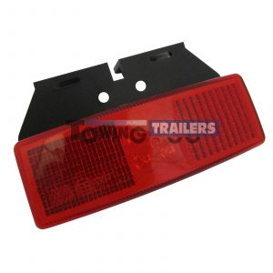 LED Autolamps 1490 Series Red Bracket Mount Trailer Marker Light