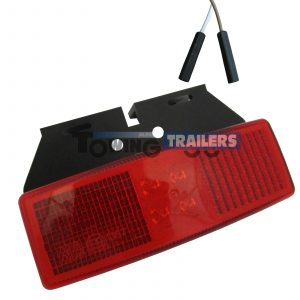 LED Autolamps Red Trailer Bracket Mount Harness Marker Light