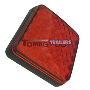 LED Autolamps 12v 81 Series Square Trailer Stop Tail Light