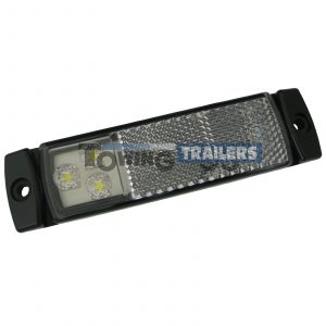 LED Autolamps 129 Series Front Trailer Marker Light