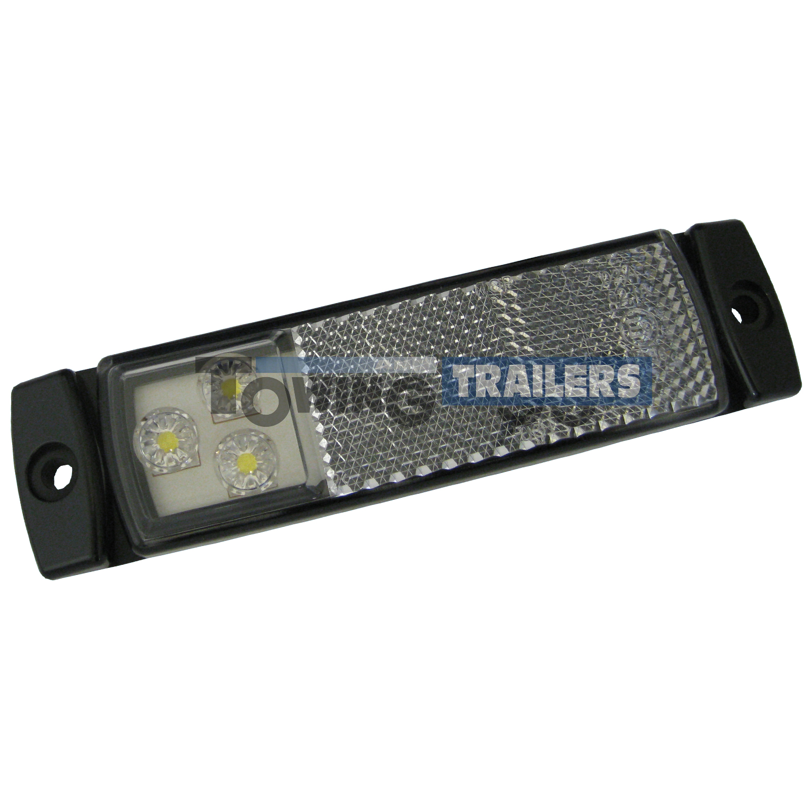 LED Autolamps 129 Series Front Trailer Marker Light with Reflector
