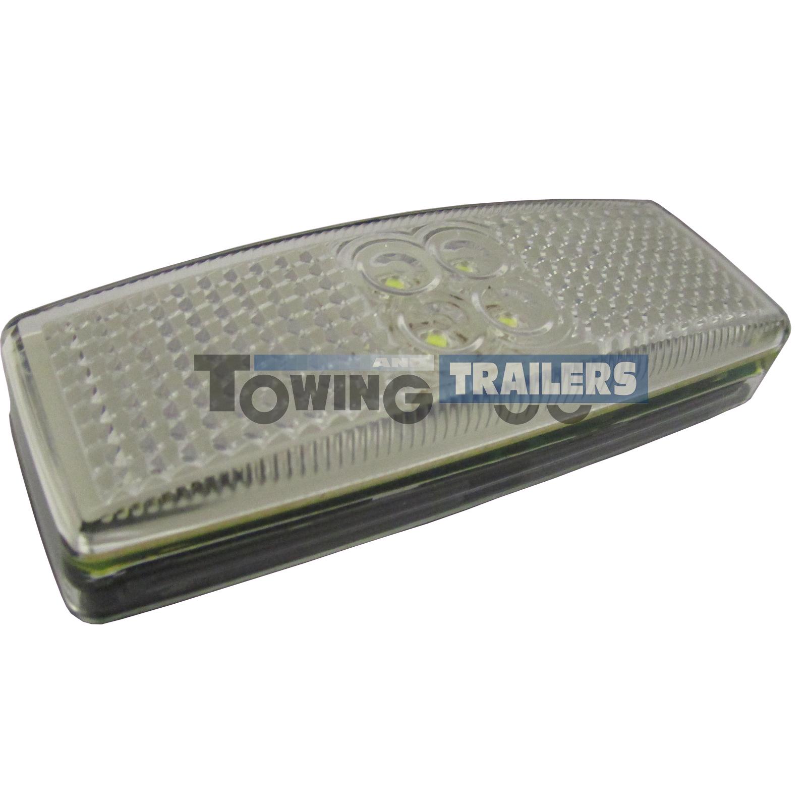 LED Autolamps 1490 Series White Trailer Marker Light Multivolt